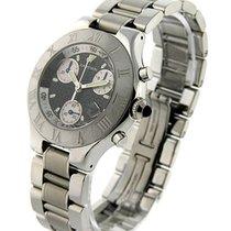 Cartier W10172T2 Must 21 Chronoscaph - Steel on Bracelet