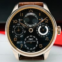 IWC IW503202 Portuguese Perpetual Calendar Double Moon 18K...
