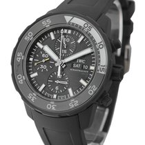 IWC 376705 Galapagos Aquatimer Chronograph in Rubber Coated...