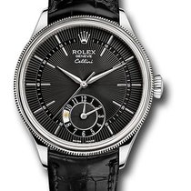 Rolex 50529 bkbk Cellini Dual Time Watch