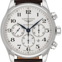 Longines L2.859.4.78.3 Steel 2018 Master Collection 44,00mm new