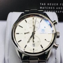 TAG Heuer Carrera 1887 Automatic Chronograph White Dial/Black...