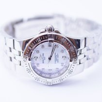Breitling Starliner Ladies Stainless Steel Watch With Mother...