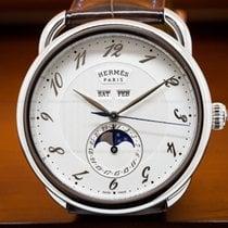 Hermès 036756ww00 Arceau Grande Lune Automatic 43mm SS (27595)