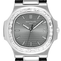 Patek Philippe 5711G White Gold with Custom Baguette Cut...