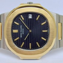Patek Philippe 3700 Gold/Steel 1986 Nautilus 42mm pre-owned
