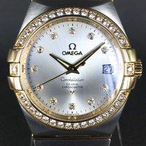 Omega Constellation Ladies Or/Acier 35mm Gris Sans chiffres Belgique, Bruxelles