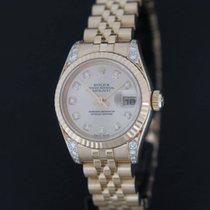 Rolex Datejust Yellow Gold Diamond Dial