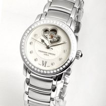 Frederique Constant FC-310DHB2PD6B Steel Ladies Automatic Double Heart Beat 34mm new