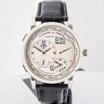 A. Lange & Söhne Lange 1 Platinum Silver Roman numerals United States of America, Massachusetts, Boston
