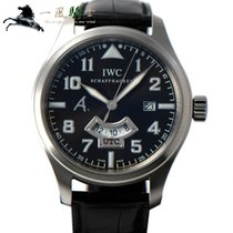 IWC Pilot 스틸 44mm 갈색