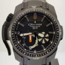 Graham Prodive Staal 45mm Zwart Geen cijfers