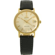 Omega 14770 Yellow gold 1962 Seamaster 35mm pre-owned