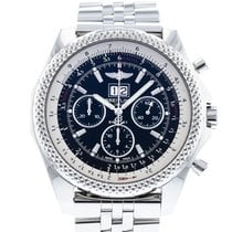 Breitling Steel Automatic Black 49mm pre-owned Bentley 6.75