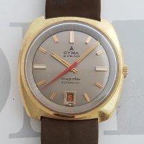 Cyma nou Atomat 36mm Aur/Otel