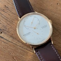 NOMOS Lambda pre-owned 39mm White Leather
