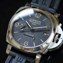 check out 4aaef 4c0f3 パネライ ルミノール 1950 10デイズ GMT - Chrono24 で価格一覧 ...