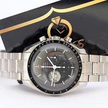 Omega Speedmaster Professional Moonwatch Acciaio 42mm Nero Senza numeri Italia, Parete