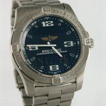 Breitling Aerospace Avantage Titan 41.5mm Schwarz Arabisch