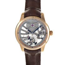 Ulysse Nardin Classic Skeleton Tourbillon Rose gold 44mm Transparent No numerals United States of America, New York, Greenvale