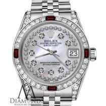 Rolex Lady-Datejust Acier 31mm Nacre