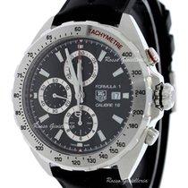 TAG Heuer Formula 1 Calibre 16 new 2019 Automatic Chronograph Watch with original box and original papers CAZ2010.FT8024