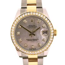 Rolex Datejust Lady's with Diamonds 178383