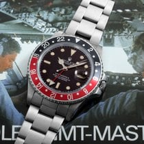 "Rolex 1988 SS GMT Master ll ""Fat Lady"" w/ Box, Papers,..."