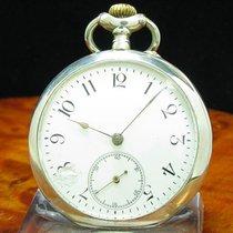 Σοπάρ (Chopard) & Favre 800 Silber Open Face Taschenuhr