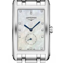 Longines DolceVita Steel 25.8mm Mother of pearl