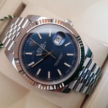 Rolex Datejust acier blu dial 126334 , New model