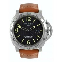 Panerai 44mm Automatic 2011 pre-owned Special Editions Black