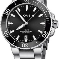 Oris Aquis Date Steel 39.5mm Black United States of America, New York, Airmont