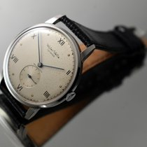 Wyler Vetta Steel 38mm Manual winding pre-owned