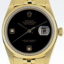 Rolex Datejust Gelbgold 36mm Schwarz Deutschland, Stuttgart
