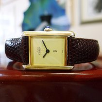 22de06adb7b Cartier Must De Cartier Vermeil Gold Sterling Silver Hand-wind.