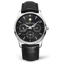 Jaeger-LeCoultre Master Ultra Thin Perpetual Steel 39mm Black No numerals United States of America, Iowa, Des Moines