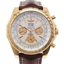 Breitling Rose gold Automatic White No numerals 50mm pre-owned Bentley 6.75