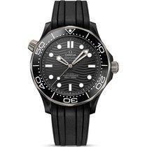 Omega Seamaster Diver 300 M Céramique 43.5mm Noir France, Paris