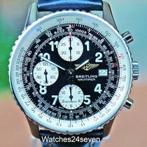 Breitling Old Navitimer Steel 14mm Black