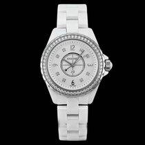 Chanel J12 Ceramic 33mm White Arabic numerals