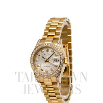 Rolex Lady-Datejust Yellow gold 26mm Silver United States of America, New York, Hartsdale