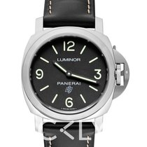 Panerai Luminor Base Logo Stal 44mm Czarny