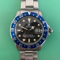 Rolex 1675 Steel 1972 GMT-Master 40mm pre-owned