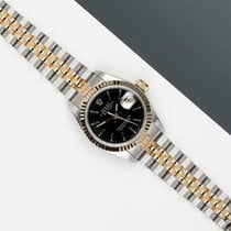 Rolex Lady-Datejust pre-owned 26mm Black Gold/Steel