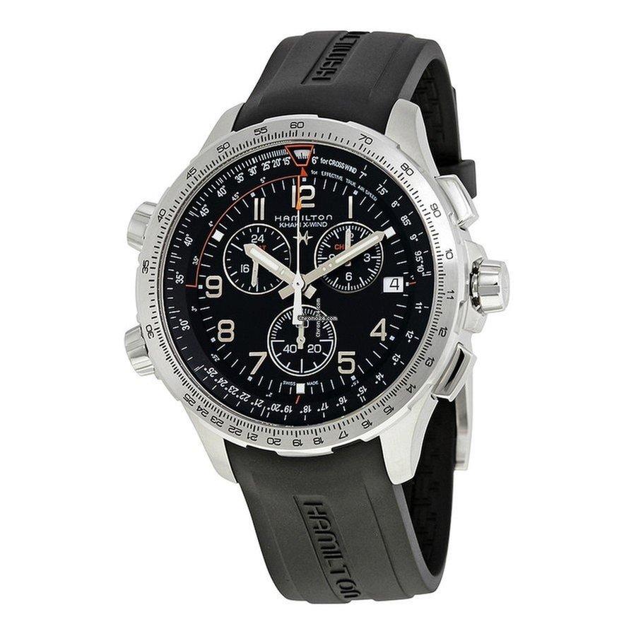 acheter populaire f0501 e92a0 Hamilton Men's H77912335 Khaki Aviation X-Wind Chrono Watch