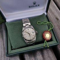 Rolex Oyster Perpetual Date Staal 34mm Zilver Geen cijfers Nederland, Breda