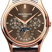 Patek Philippe Rose gold Automatic Brown No numerals 37.2mm new Perpetual Calendar