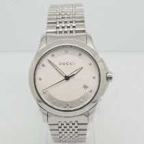 Gucci Steel 38mm Quartz 126.4 pre-owned United States of America, New York, Forest Hills