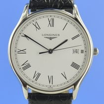 Longines Lyre Steel 34.5mm White